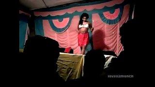 Desi Bhabhi Dances Naked on Stage in Public