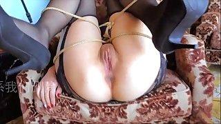 Chinese girl gang-fuck sans condom ???????