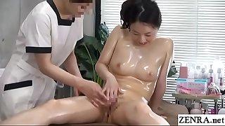 JAV CFNF Lezzie Massage Clinic Masturbation Help Subtitled