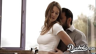 Youthful vixen Ashley Lane thrashed with dick creampie