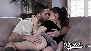 Kimber Forest penetrated after stepbro seduction