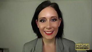 PASCALSSUBSLUTS - Classy UK Mummy Belle OHara submits to dom