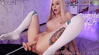Anal Lesbian Amateur Young Purple Superslut & Hellia sgh Sia Siberia