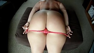 Huge Booty PAWG Vanilla Cake Takes Off Her Panties for Dick