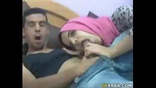 Arab Teen Deep throats Big Cock