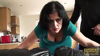 PASCALSSUBSLUTS - Montse Swinger whipped and pouch slammed
