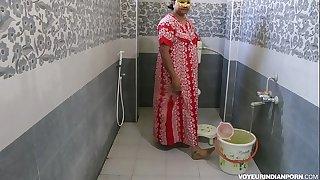 Sexy Hot Indian Bhabhi Dipinitta Taking Shower After Tough Hookup