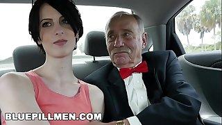 BLUE PILL MEN - Dirty Old Men Stick Their Dirty Old Sensitive In Alex Harper's Ass