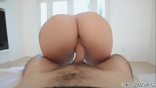 Stepmom titfuck stepsons thick shaft
