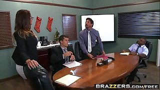 Brazzers - (Tory Lane, Ramon Rico, Intense Tommy Gunn) - Im Your Christmas Bonus